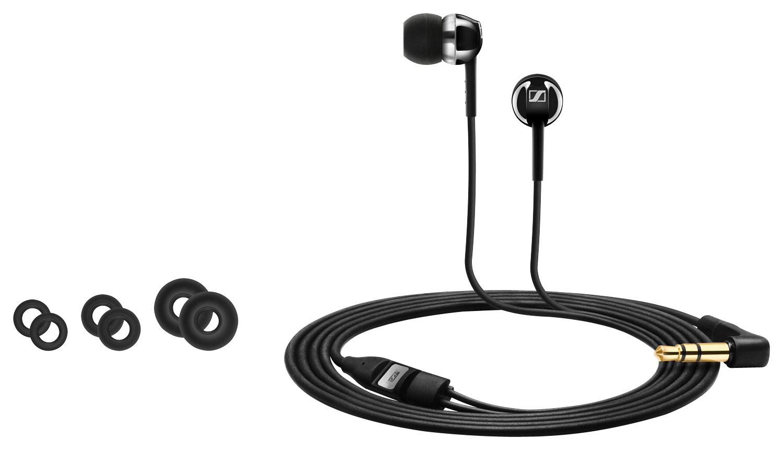Sennheiser - CX 1.00 Earbud Headphones - Black