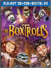 The Boxtrolls (Blu-ray 3D) (3-D) (Ultraviolet Digital Copy) 2014