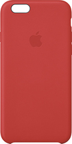 Apple® - Leather Case for Apple® iPhone® 6 - Red