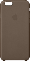 Apple® - Leather Case for Apple® iPhone® 6 - Brown