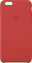 Apple® - Leather Case for Apple® iPhone® 6 Plus - Red