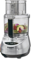 Cuisinart - Prep 9 9-Cup Food Processor - Brushed Stainless-Steel