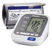 Omron - 7 Series Upper Arm Blood Pressure Monitor - White/Silver