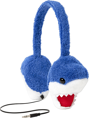 ReTrak - Animalz Shark Over-the-Ear Headphones - Blue