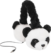 ReTrak - Animalz Panda Over-the-Ear Headphones - Black/White