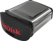 SanDisk - Ultra Fit 16GB USB 3.0 Flash Drive - Black/Silver