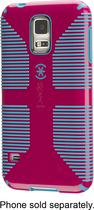 Speck - Candyshell + Faceplate Case for Samsung Galaxy S5 Cell Phones - Pink/Blue