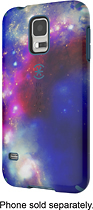 Speck - Candyshell Inked Case for Samsung Galaxy S 5 Cell Phones - Red/Blue