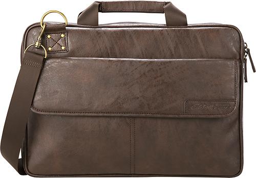 Eddie Bauer - Laptop Briefcase - Soft Brown