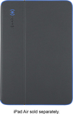 Speck - Durafolio Case for Apple® iPad® Air - Slate Gray/Blue