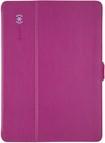Speck - StyleFolio Case for Samsung Galaxy Tab S 10.5 - Fuchsia Pink/Nickel Gray