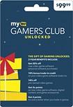 My Best Buy - My Best Buy Gamers Club Unlocked Membership Activation Card - Blue