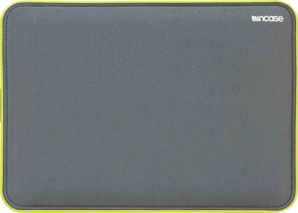 """Incase - ICON Sleeve for 13"""" Apple® MacBook® Pro with Retina display - Gray/Lumen"""