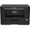 Brother - Network-Ready Wireless All-In-One Printer - Black