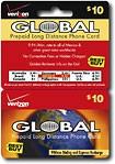 Verizon - $10 International Flat Rate Prepaid Phone Card Plus