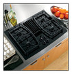 "GE - Profile 30"" Built-In Gas Cooktop - Black"