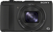 Sony - DSC-HX50V 20.4-Megapixel Digital Camera - Black