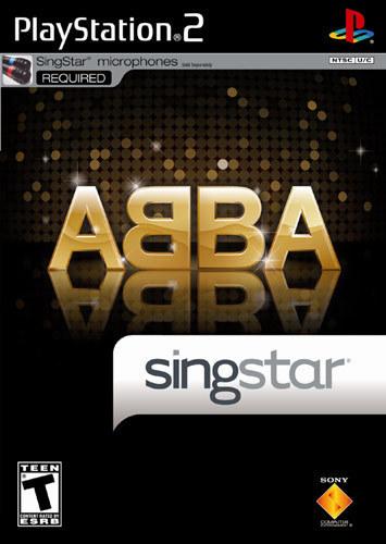 SingStar ABBA - PlayStation 2