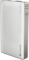 mophie - powerstation duo External Battery Pack Charger - White