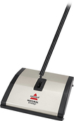 Bissel - Natural Sweep Upright Sweeper - Stainless-Steel