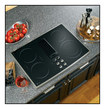 "Ge Appliance - Profile 30"" Built-in Electric Cooktop - Black"