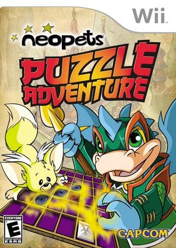 Neopets Puzzle Adventure - Nintendo Wii