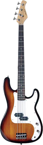 Archer - SB10 4-String Full-Size P-Style Electric Bass Guitar - Sunburst
