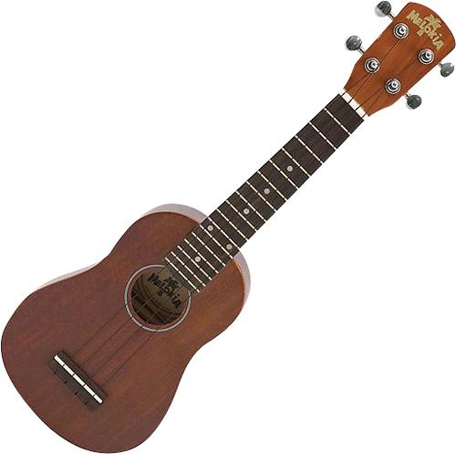 Melokia - 4-String Soprano Ukulele - Brown