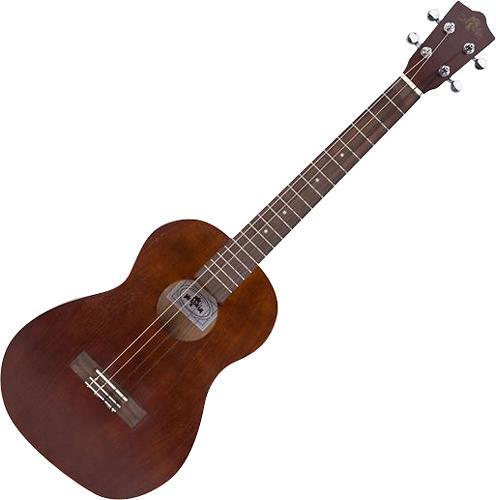 Melokia - 4-String Baritone Ukulele - Brown