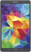 """Samsung - Galaxy Tab S - 8.4"""" - 16GB - Wi-Fi + 4G LTE AT&T - Charcoal"""