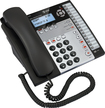 AT&T - Corded Speakerphone with Intercom - Black/White