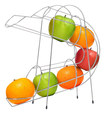 Chef Buddy - Curved Fruit Chute - Silver
