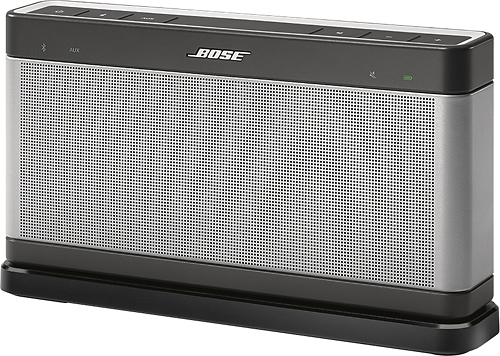 Bose® - SoundLink® III Charging Cradle - Black