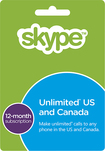 Skype - 12-Month Subscription Card - Green