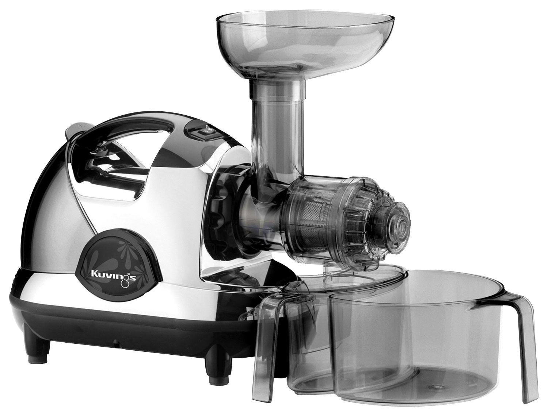 Kuvings - NJE Series Masticating Slow Juicer - Chrome