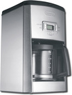 DeLonghi - 14-Cup Automatic Coffeemaker - Silver