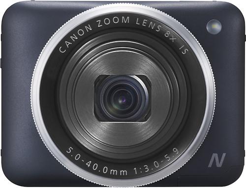 Canon - PowerShot N2 16.1-Megapixel Digital Camera - Black
