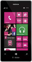 T-Mobile Prepaid - Nokia Lumia 521 4G No-Contract Cell Phone - Flat White