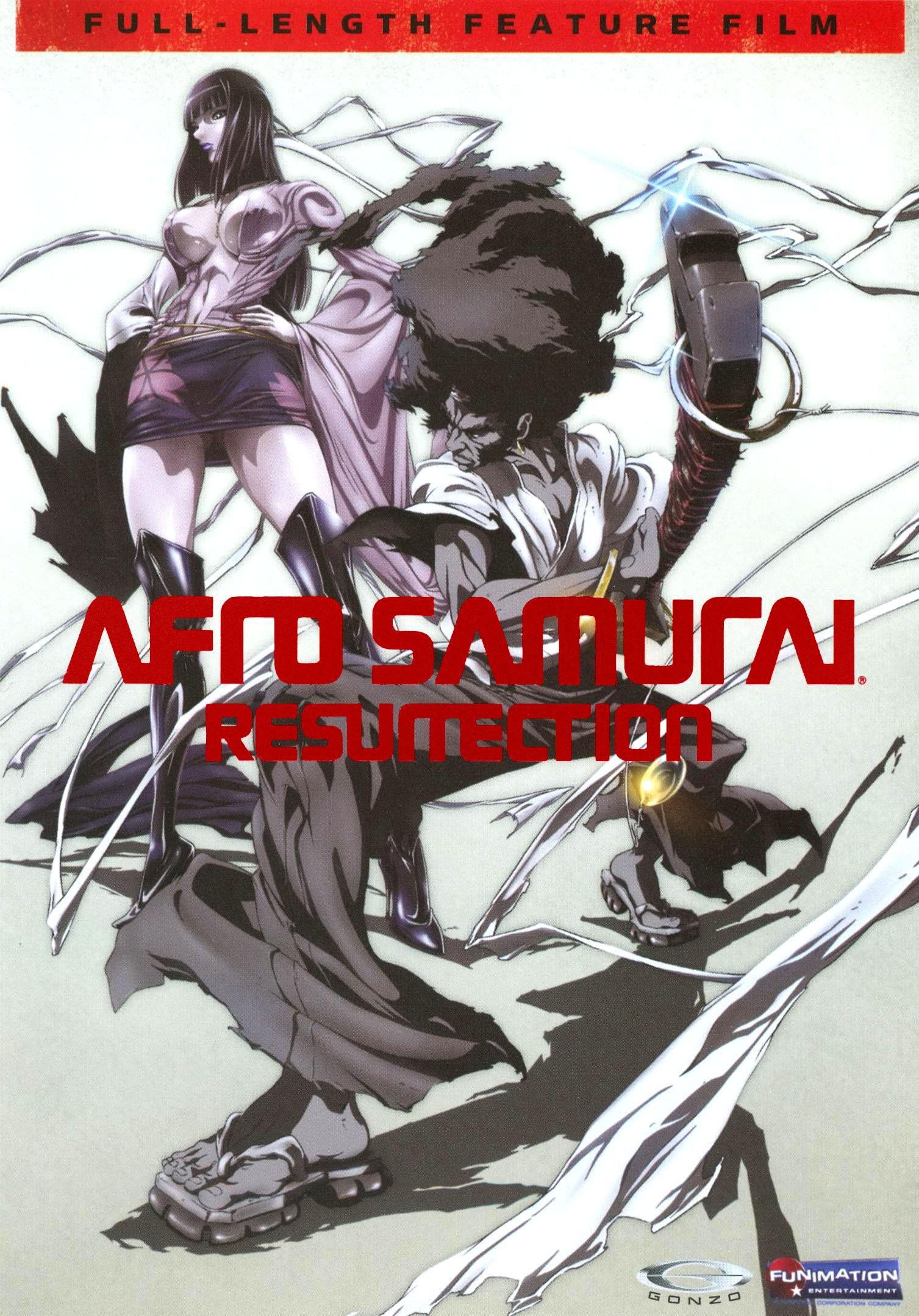 Afro Samurai: Resurrection [edited Tv Version] (dvd) 9161042