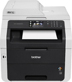 Brother - Network-Ready Wireless All-In-One Printer - White