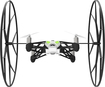 Parrot - Rolling Spider Mini Robot Insect Drone - Black/White/Green