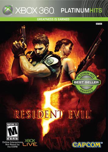 Resident Evil 5 Platinum Hits - Xbox 360