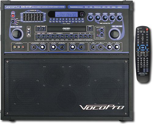 VocoPro - Gigstar Jam-Along Karaoke System