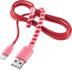 Modal - 4' Twist Lightning Charge-and-Sync Cable - Pink