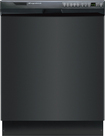 "Frigidaire - 24"" Built-In Dishwasher - Black"