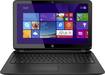 "HP - 15.6"" Touch-Screen Laptop - AMD A8-Series - 8GB Memory - 750GB Hard Drive - Black"