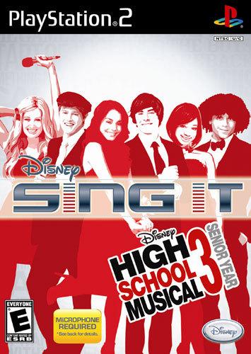 Disney Sing It: High School Musical 3: Senior Year - PlayStation 2