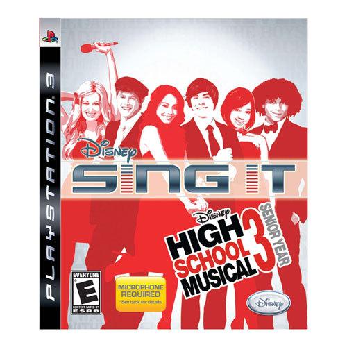 Disney Sing It: High School Musical 3: Senior Year - PlayStation 3