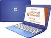 "HP - Stream 11.6"" Laptop - Intel Celeron - 2GB Memory - 32GB eMMC Solid State Drive - Horizon Blue"