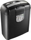 Dynex™ - 6-Sheet Crosscut Shredder - Black